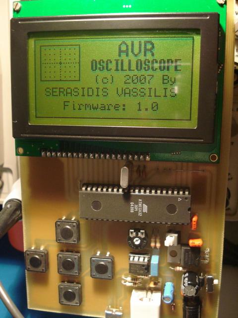 Цифровой осциллограф на микроконтроллере AVR (ATmega32, C)