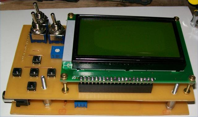 Цифровой осциллограф своими руками схема