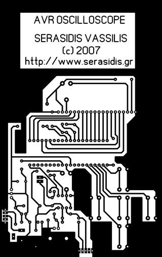 Цифровой осциллограф на микроконтроллере AVR (ATmega32, C) .