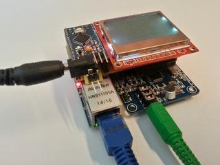 Arduino WebRadio player